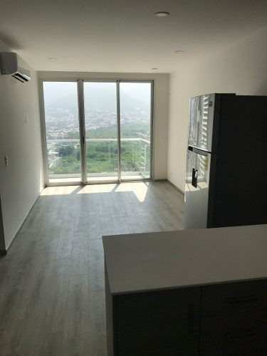 (crm-4864-90)  departamento en renta, nuevo sur torre gaeta norte, monterrey, n.l.