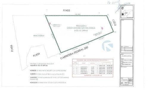 (crm-4983-45)  terreno camp. 2.5 hect. sobre carret. vallarta-sayulita