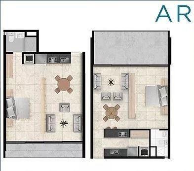 (crm-4983-58)  departamento en pre venta,nuevo vallarta, aria ocean , 1 recamara
