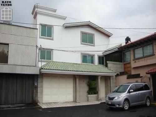 (crm-5206-1009)  casa en cerrada con seguridad en pedregal