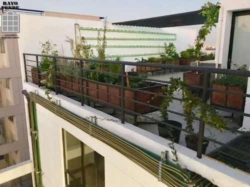 (crm-5206-1012)  departamento con roof garden narvarte