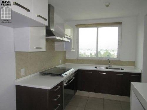 (crm-5206-1015)  departamento pent house en tetelpan