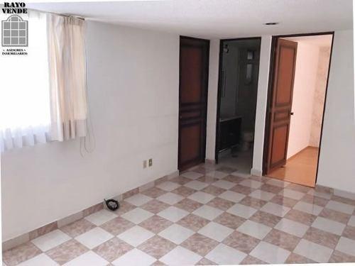 (crm-5206-1072)  muy buen departamento interior en paseos de taxqueña
