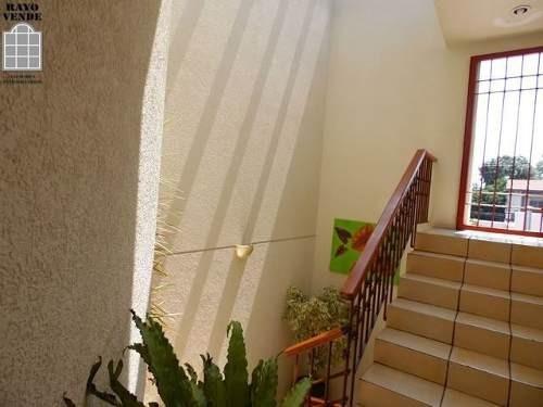 (crm-5206-1079)  casa con vigilancia en ampliacion pedregal