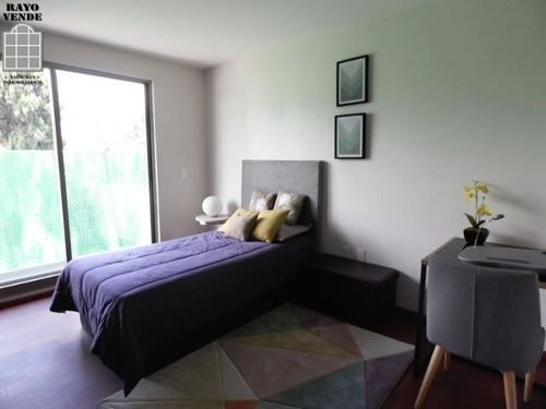 (crm-5206-1089)  condominio horizontal nuevo en renta tetelpan calle cerrada con vigila