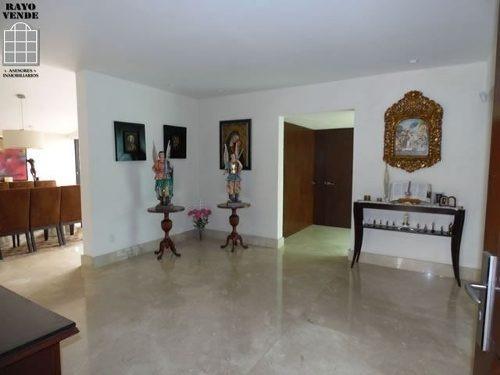 (crm-5206-1111)  casa en venta una sola planta con gran jardin en pedregal