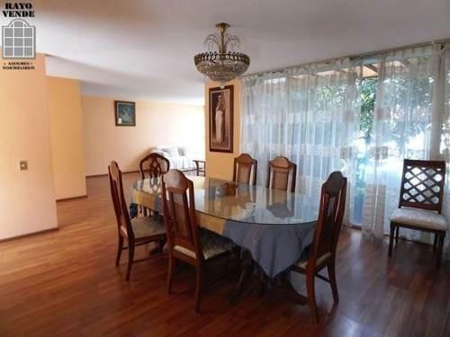 (crm-5206-1122)  casa en venta con alberca en pedregal