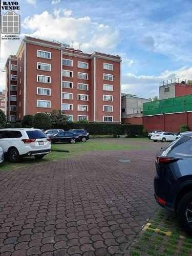(crm-5206-1227)  departamento en renta ex hacienda coapa