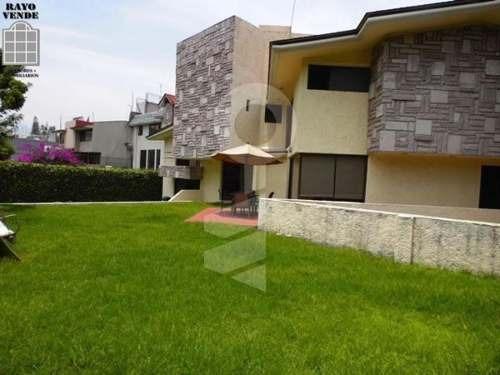 (crm-5206-124)  casa en venta con vigilancia fuentes del pedregal