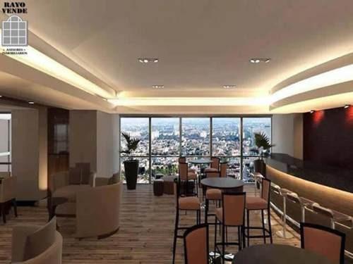 (crm-5206-284)  departamento nuevo en venta city towers grand