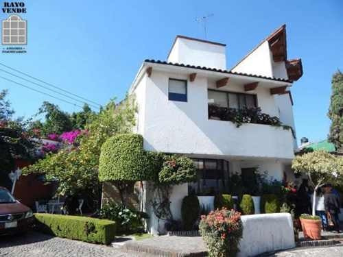 (crm-5206-361)  bonita casa en condominio horizontal arbolado