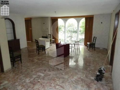 (crm-5206-470)  casa como terreno en venta pedregal