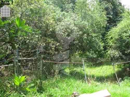 (crm-5206-478)  terreno en venta con vigilancia san bernabe ocotepec