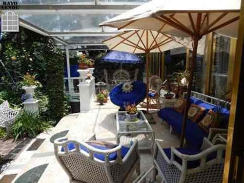(crm-5206-5)  casa en venta pedregal con alberca y jardin
