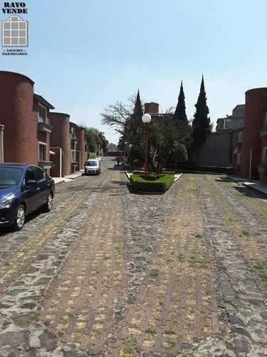 (crm-5206-599)  condominio horizontal con jardin comun en miguel hidalgo