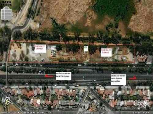 (crm-5206-6)  terreno comercial en venta periferico oriente lotes desde 456m² a $14,000.00 x m²
