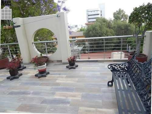 (crm-5206-612)  departamento con roof garden privado santa maria nonoalco