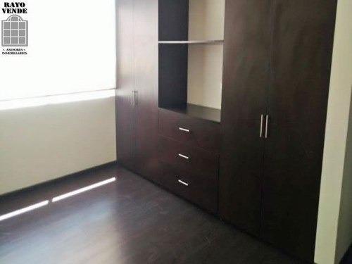 (crm-5206-668)  departamento en renta roma norte