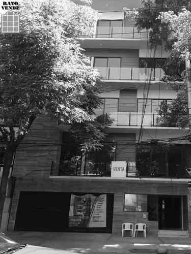 (crm-5206-800)  departamento nuevo colonia roma residencial arista