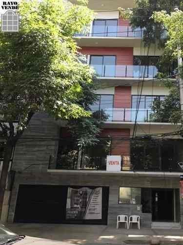 (crm-5206-801)  departamento nuevo colonia roma residencial arista