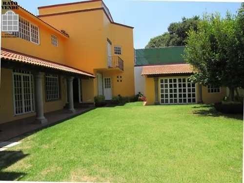 (crm-5206-833)  casa con vigilancia jardines del ajusco