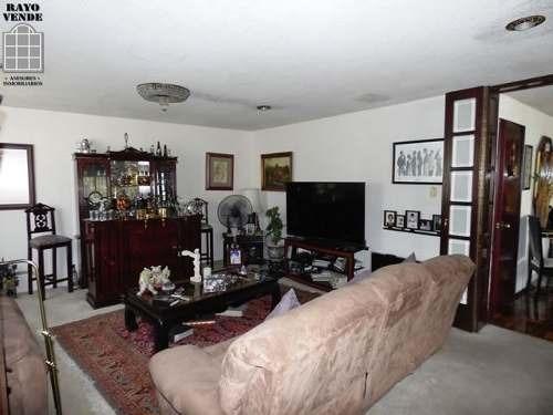 (crm-5206-847)  casa en venta calle cerrada con vigilancia pedregal