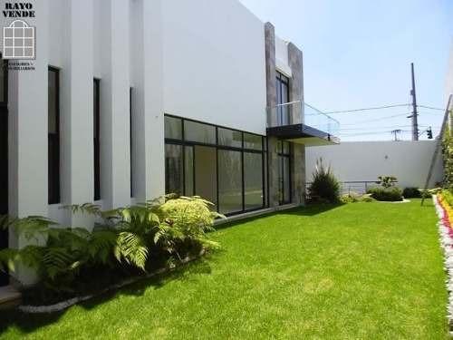 (crm-5206-974)  espectacular residencia nueva en ampliación pedregal