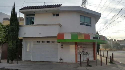 (crm-5268-14)  casa en venta (inversionistas) con local, colinas del carmen león, gto