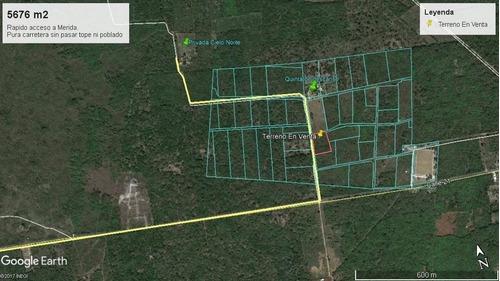 (crm-5360-125)  preventa lotes urbanizados al norte de merida