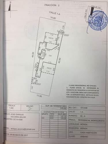 (crm-5360-14)  terreno en venta en colonia montecristo