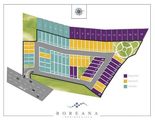 (crm-5360-147)  lotes residenciales  boreana cholul