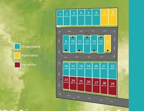 (crm-5360-148)  lotes residenciales en temozon norte