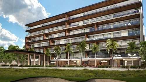 (crm-5360-151)  departamentos de lujo en puerto cancun (tipologia b)