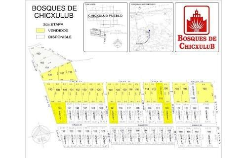 (crm-5360-212)  lotes de inversión en bosques de chicxulub