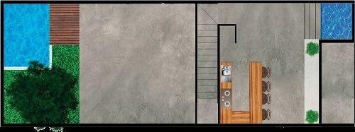 (crm-5360-235)  townhouse en privada kuro en temozón