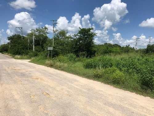 (crm-5360-241)  terreno en venta en temozon norte en esquina
