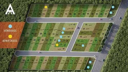 (crm-5360-245)  terrenos residenciales algea