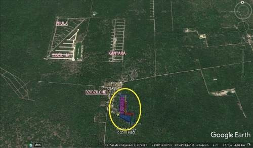 (crm-5360-270)  palmaranto terrenos de inversión en dzidzilche