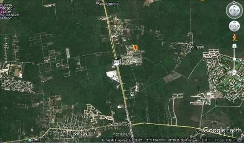 (crm-5360-272)  magnifico terreno de inversión cerca de carretera a progreso