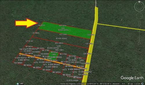(crm-5360-8)  terreno en venta ideal para inversión en chablekal mérida yucatán
