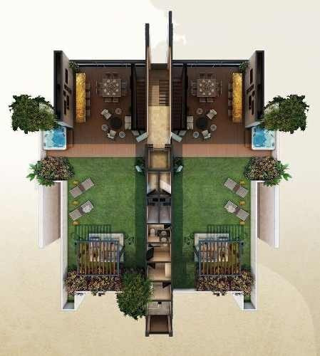 (crm-5360-93)  penthhouse en venta parque tuunich temozon norte