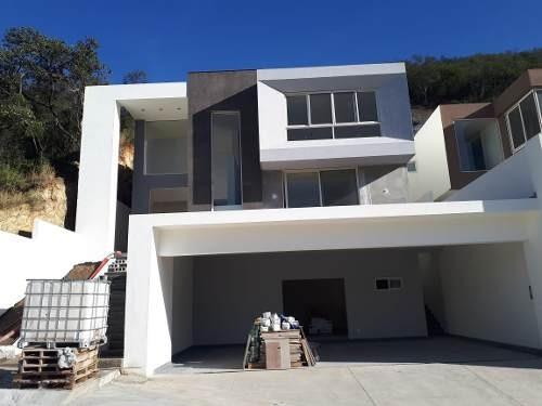 (crm-5549-12)  casa en venta loma bonita carretera nacional monterrey
