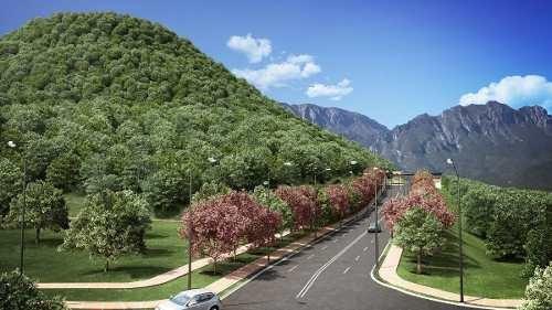 (crm-5549-18)  terreno en venta loma bonita carretera nacional monterrey