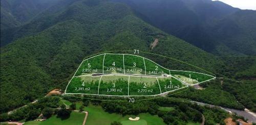 (crm-5549-27)  terreno en venta las misiones club de golf nuevo leon