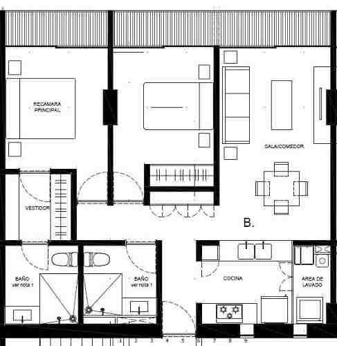 (crm-5571-2056)  departamento en venta - sennse concepción béistegui-204