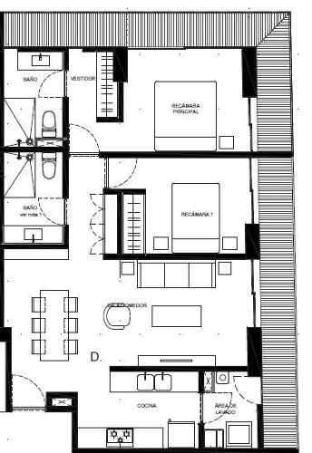 (crm-5571-2058)  departamento en venta - sennse concepción béistegui-308