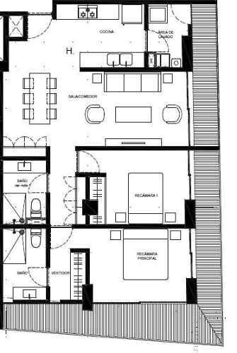(crm-5571-2061)  departamento en venta - sennse concepción béistegui-607