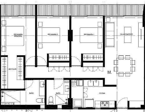 (crm-5571-2065)  departamento en venta - sennse concepción béistegui-906