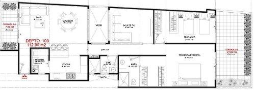 (crm-5571-2204)  departamento en venta - vista condesa ll - 103