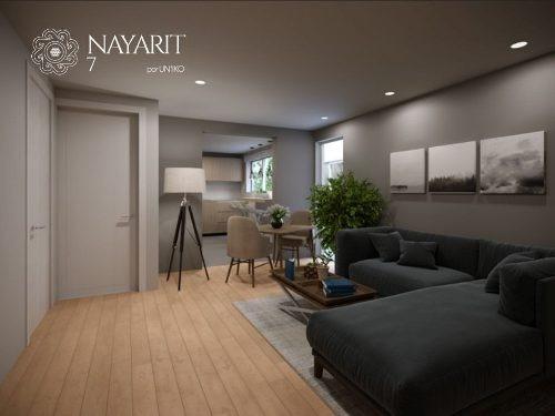 (crm-5571-2264)  departamento en venta - nayarit 7 - 102